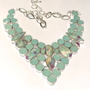 NEW! Chalcedony Necklace